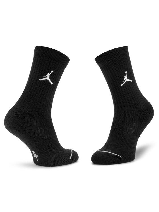 Nike Nike Set de 3 perechi de șosete medii unisex SX5545 013 Negru