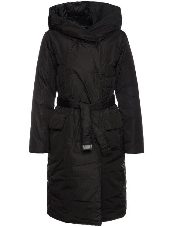 Hetregó Hetregó Žieminis paltas Brianna 8H635 19W008 Juoda Regular Fit