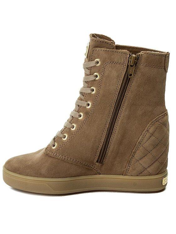 Guess Guess Sneakersy Felipa FLFLP4 SUE10 Béžová