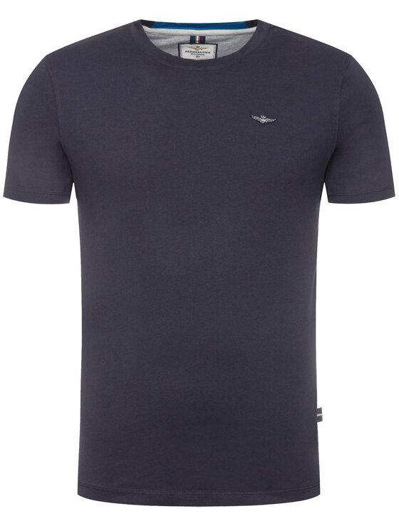 Aeronautica Militare Aeronautica Militare T-Shirt 201TS1696J468 Dunkelblau Regular Fit