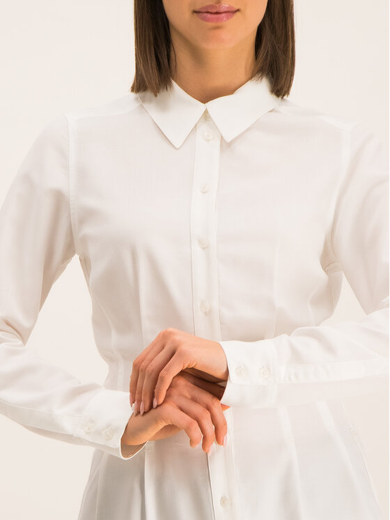 G-Star Raw G-Star Raw Košile D14588-9290-110 Bílá Slim Fit