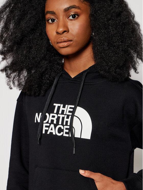 The North Face The North Face Bluză W Light Drew Peak Hoodie NF0A3RZ4JK31 Negru Regular Fit