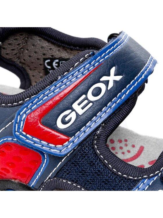 Geox Geox Sandály J Sand Strike E J5224E 014BU C4226 Tmavomodrá