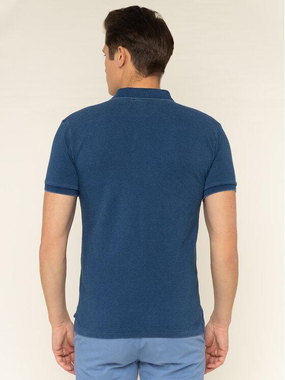 Polo Ralph Lauren Polo Ralph Lauren Polohemd 710536856 Dunkelblau Slim Fit