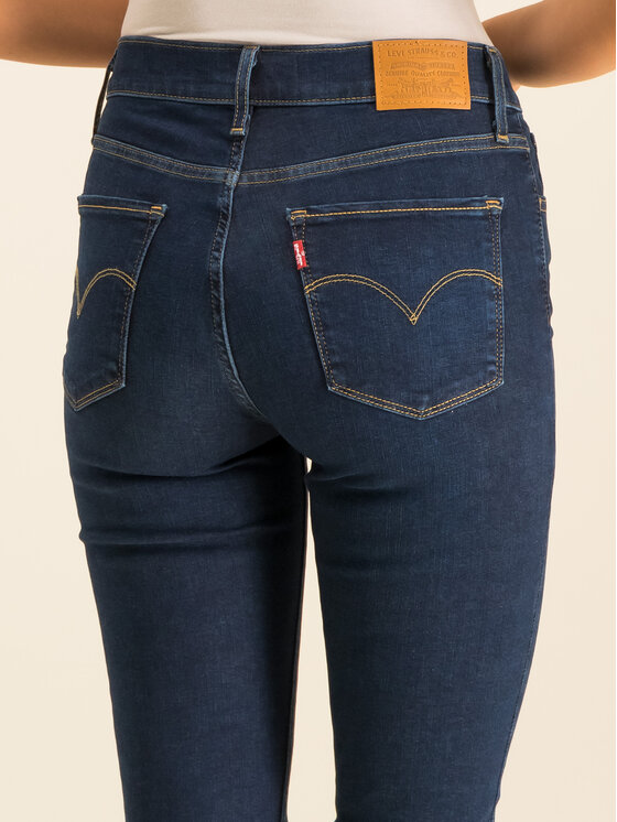 Levi's® Levi's® Jeansy 720™ High Rise 52797-0002 Tmavomodrá Super Skinny Fit