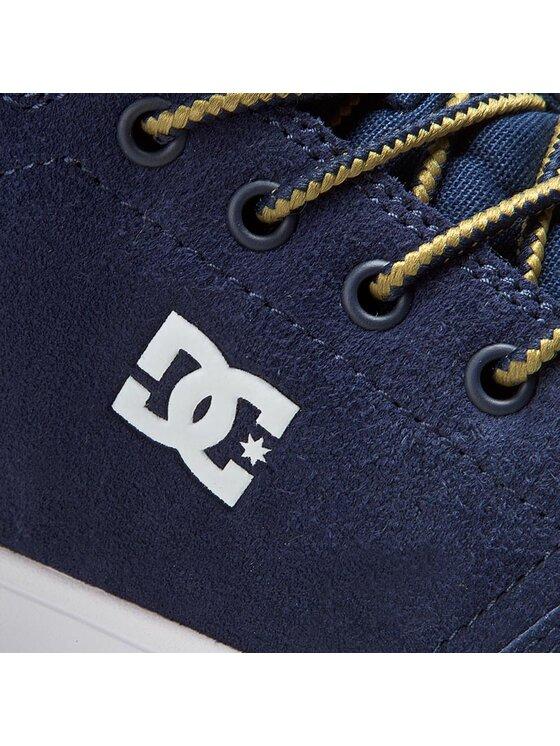 DC DC Sneakers Crisis High Wnt ADYS100116 Bleu marine
