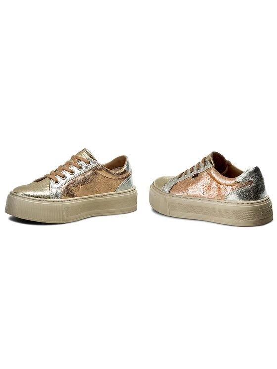 Tommy Hilfiger Tommy Hilfiger Sneakersy DENIM Dolly 1Z1 FW0FW01033 Złoty
