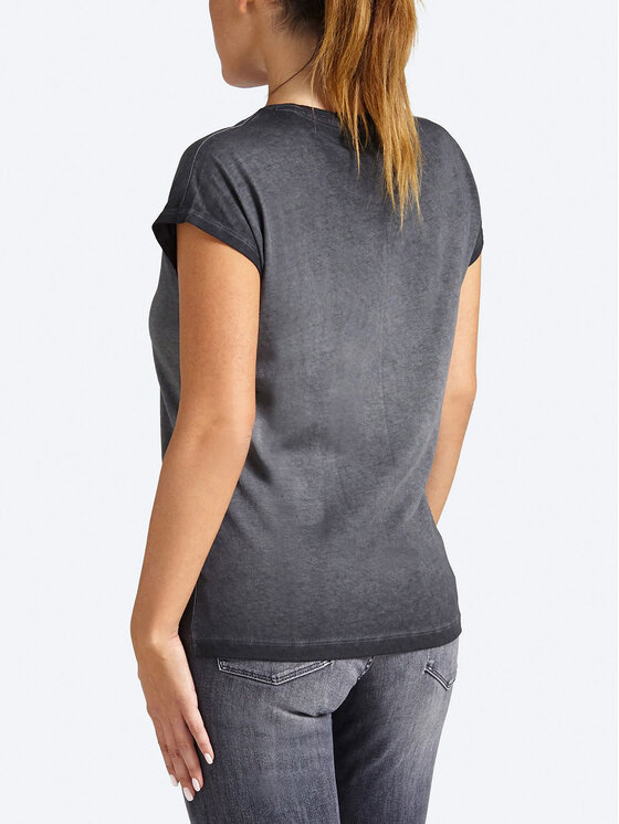 Guess Guess T-Shirt W93I82 K7OP0 Szary Regular Fit