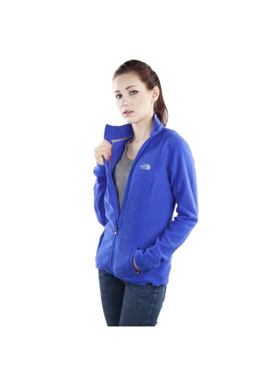 The North Face The North Face Polar W 100 Glacier Full Zip T0ATYWS59 S Niebieski