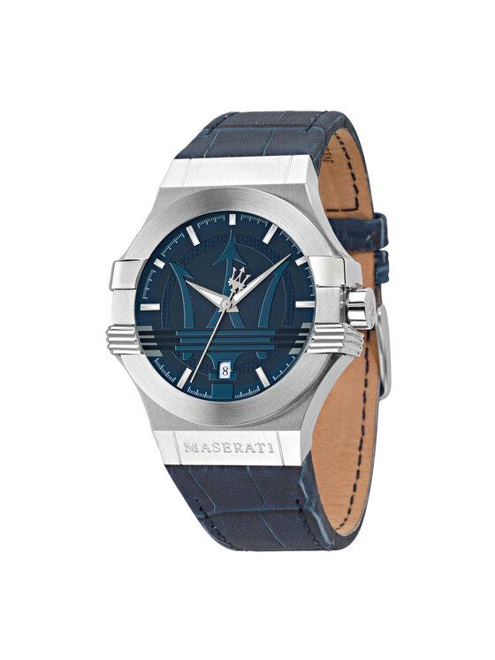 Maserati Laikrodis Potenza R8851108015 Tamsiai mėlyna