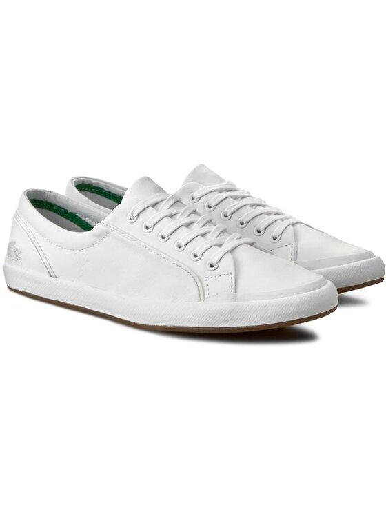 Lacoste Lacoste Обувки Lancelle Lace 6 Eye 116 1 7-31SPW0012001 Бял