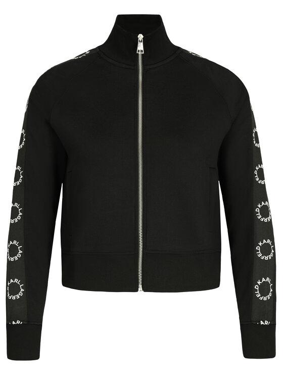 KARL LAGERFELD KARL LAGERFELD Sweatshirt 91KW1707 Noir Regular Fit