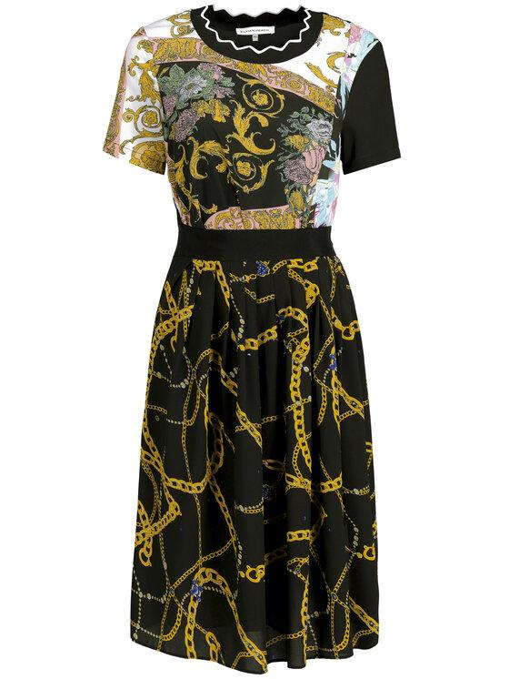 Silvian Heach Silvian Heach Ежедневна рокля Dress Hamdane CVP19139VE Черен Regular Fit