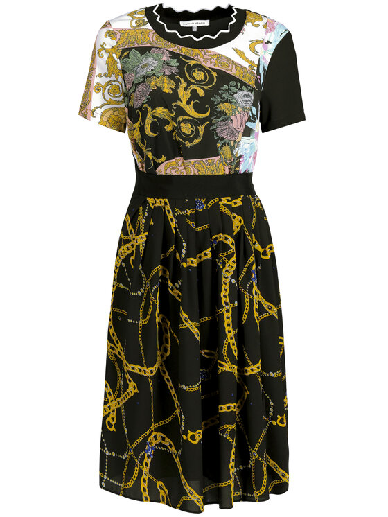 Silvian Heach Silvian Heach Φόρεμα καθημερινό Dress Hamdane CVP19139VE Μαύρο Regular Fit
