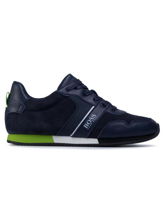 Boss Boss Sneakersy J29225 D Granatowy