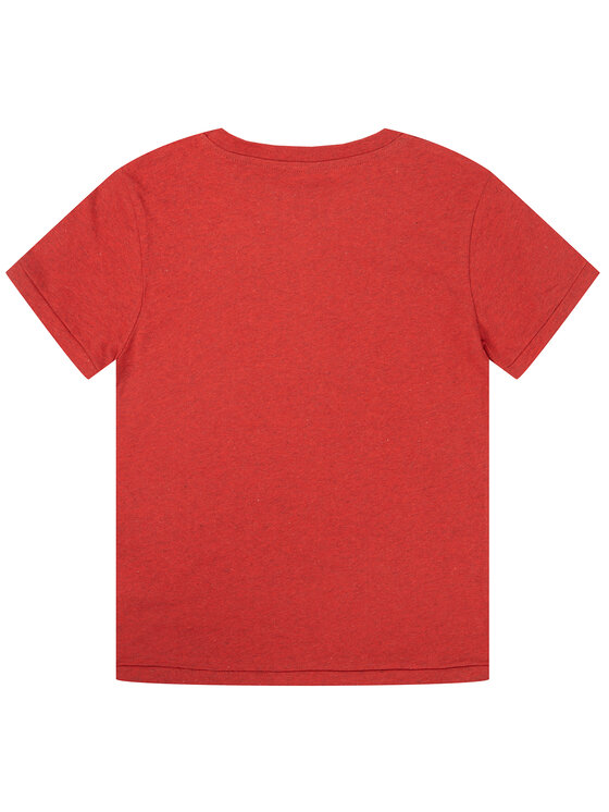 Pepe Jeans Pepe Jeans T-shirt Trico PB502703 Rouge Regular Fit