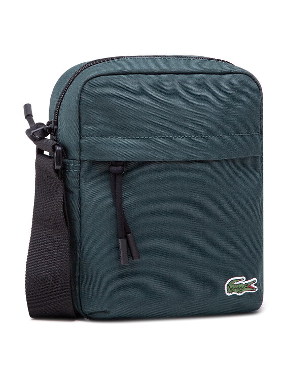 Lacoste Lacoste Saszetka Vertical Camera Bag NH2102NE Zielony