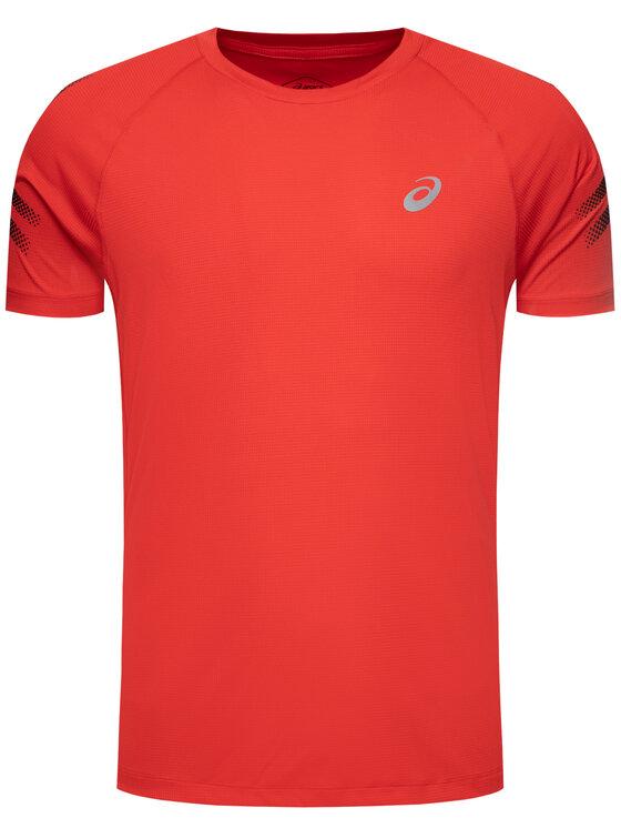Asics Asics Techniniai marškinėliai Silver Icon 2011A467 Raudona Regular Fit