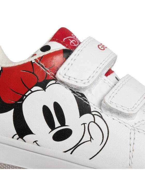 Geox Geox Sneakersy B N.Flick G. B B021HB 00085 C1000 M Biały