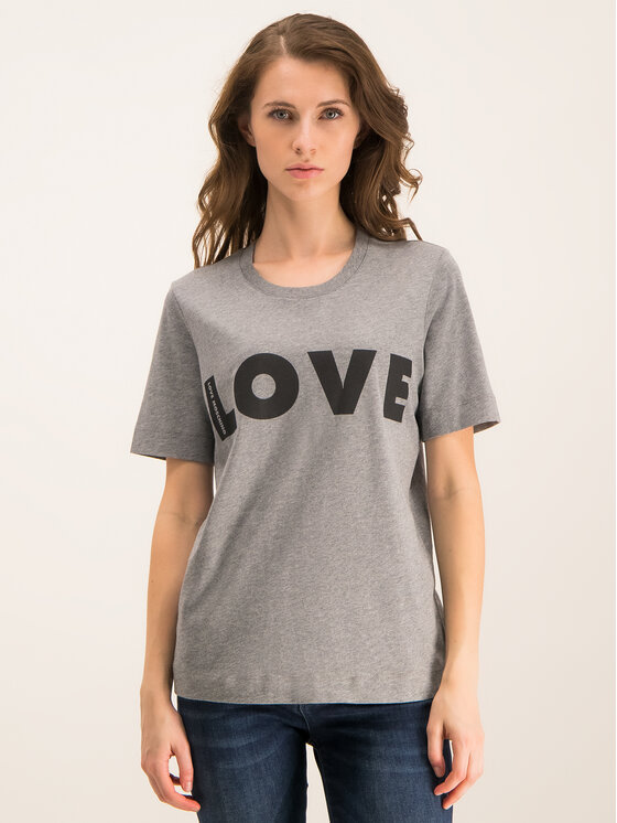 LOVE MOSCHINO LOVE MOSCHINO T-Shirt W4F151VM 3517 Regular Fit