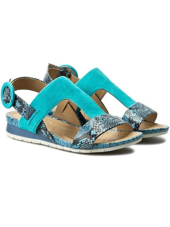Geox Geox Sandále D Formosa D6293E 0RY21 C4J3M Modrá