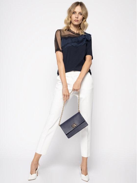 MAX&Co. MAX&Co. Marškinėliai Dami 69719520 Tamsiai mėlyna Regular Fit