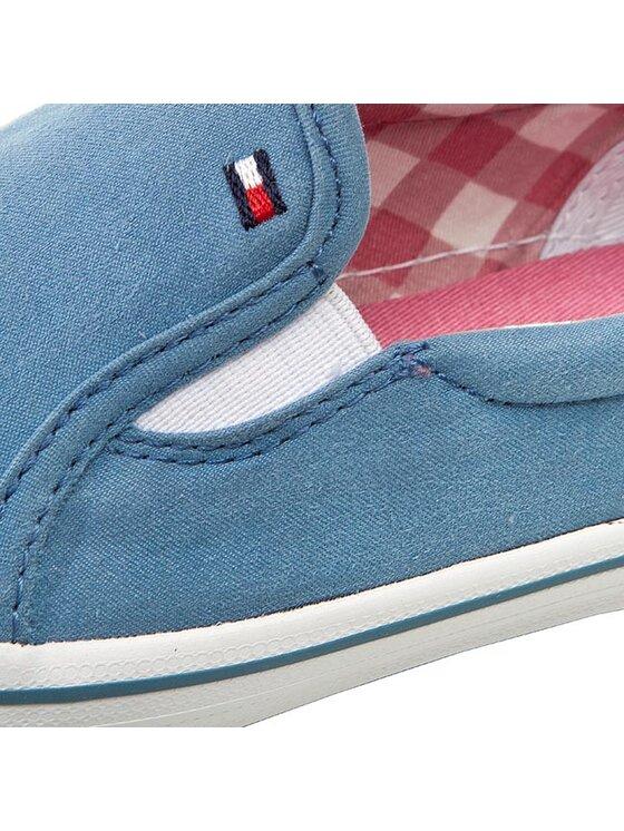 Tommy Hilfiger Tommy Hilfiger Πάνινα παπούτσια Slater 8D-1 FG56821041 Μπλε