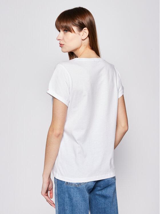 Tommy Hilfiger Tommy Hilfiger T-shirt UW0UW00676 Bianco Regular Fit