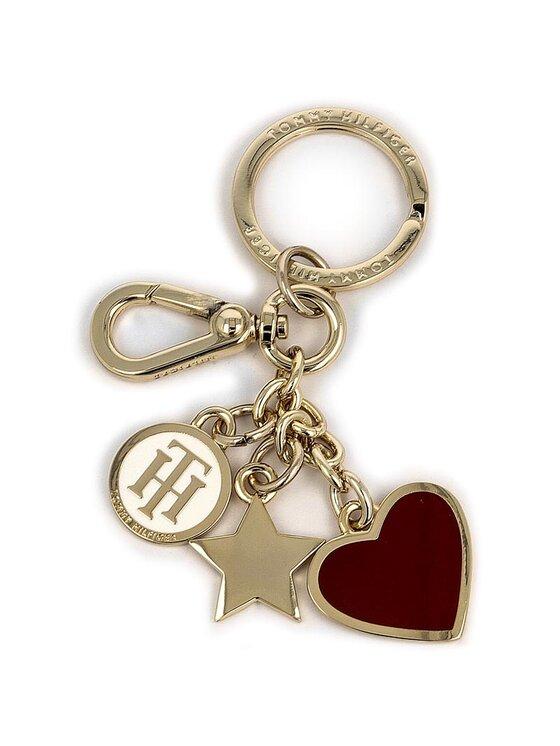 Tommy Hilfiger TOMMY HILFIGER Brelok Heart And Stars Keyfob AW0AW03656