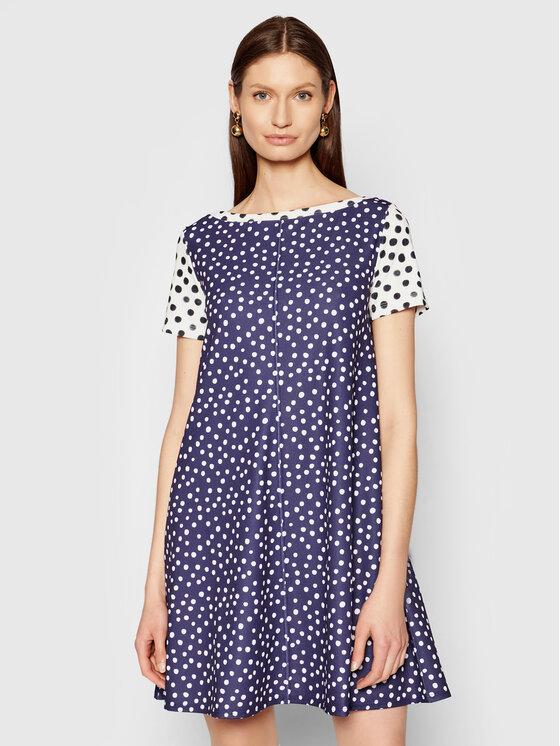 MAX&Co. Kasdieninė suknelė Chioggia 76218921 Tamsiai mėlyna Regular Fit
