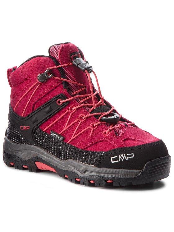 CMP CMP Bakancs Kids Rigel Mid Trekking Shoes Wp 3Q12944 Rózsaszín