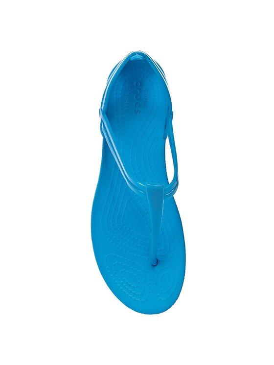 Crocs Crocs Σανδάλια Isabella T-Strap 202467 Μπλε