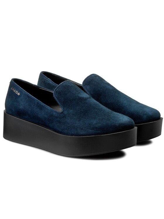 Calvin Klein Calvin Klein Chaussures basses Reva N11789 Bleu marine