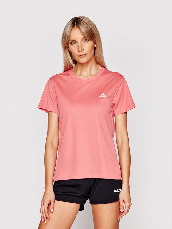 adidas adidas Koszulka techniczna Designed 2 Move GL3724 Różowy Regular Fit