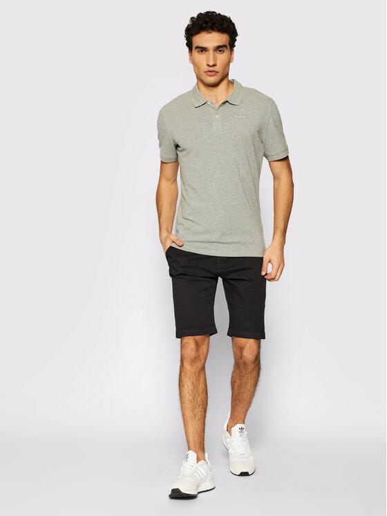 Pepe Jeans Pepe Jeans Polo marškinėliai Vincent PM541009 Pilka Slim Fit