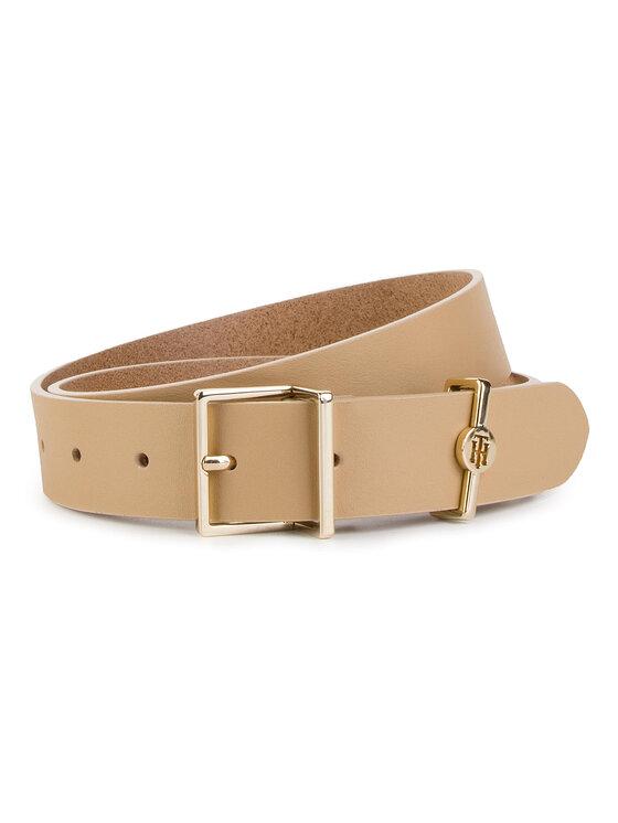TOMMY HILFIGER TOMMY HILFIGER Cintura da donna Th Dressy Belt 3.0 AW0AW06555 Beige
