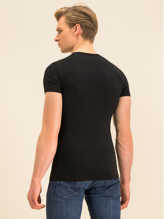 Emporio Armani Underwear Emporio Armani Underwear T-Shirt 111035 0P715 00020 Czarny Regular Fit