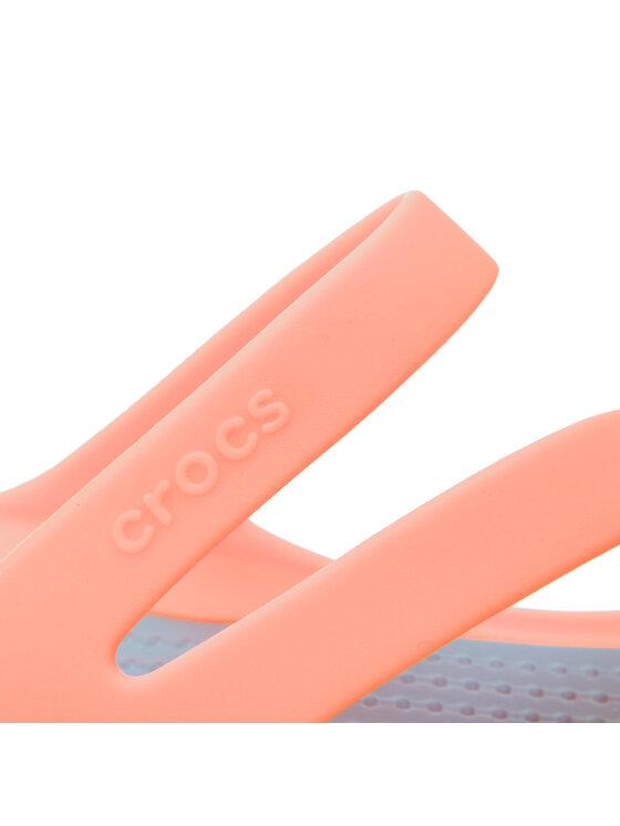 Crocs Crocs Παντόφλες Swiftwater Sandal W 203998 Πορτοκαλί