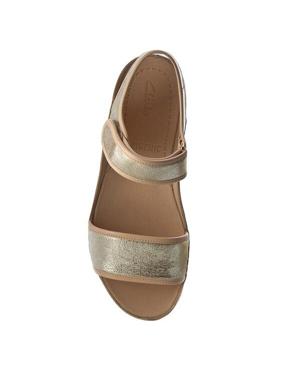 Clarks Clarks Sandale Tri Nova 261260154 Auriu
