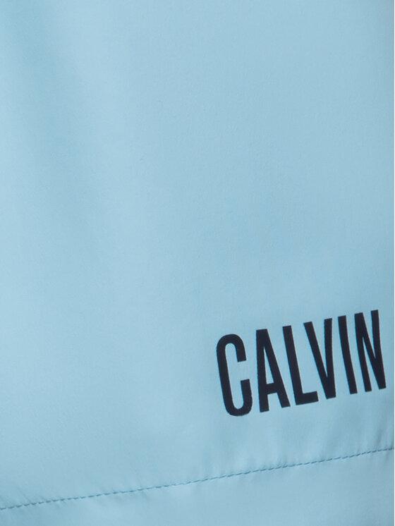 Calvin Klein Swimwear Calvin Klein Swimwear Szorty kąpielowe Drawstring Wb KM0KM00460 Niebieski Regular Fit