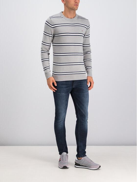 Tommy Jeans Tommy Jeans Пуловер Tjm Fine DM0DM07001 Сив Regular Fit