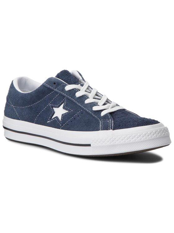 Converse Converse Sneakers aus Stoff One Star Ox 158371C Dunkelblau