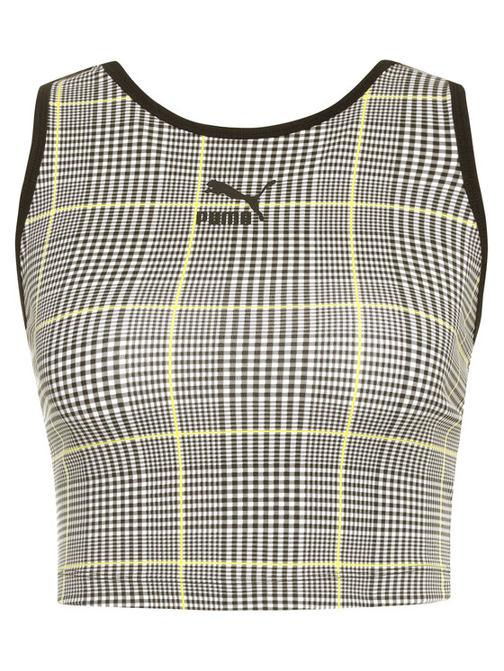 Puma Puma Топ Recheck Pack Tank Top 597891 Черен Regular Fit