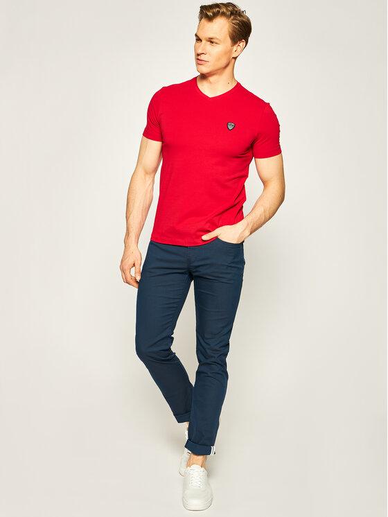 EA7 Emporio Armani EA7 Emporio Armani T-shirt 8NPTL8 PJ03Z 1450 Rosso Slim Fit