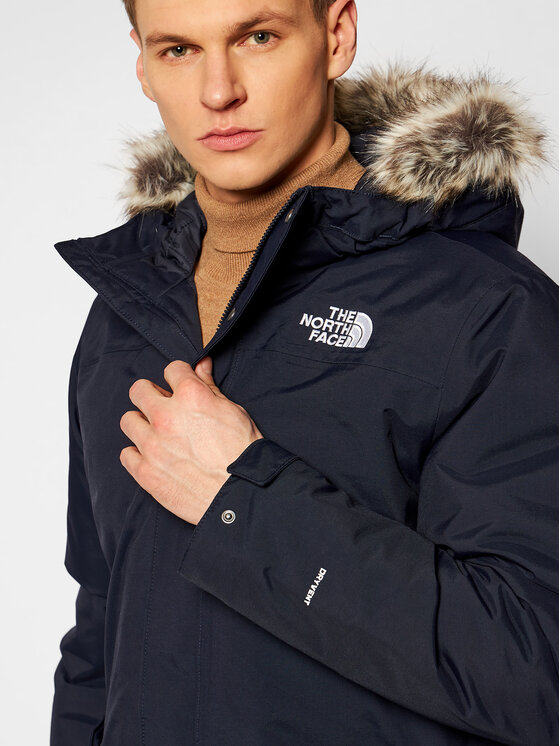 The North Face The North Face Kurtka zimowa Zaneck NF0A4M8HRG11 Granatowy Regular Fit