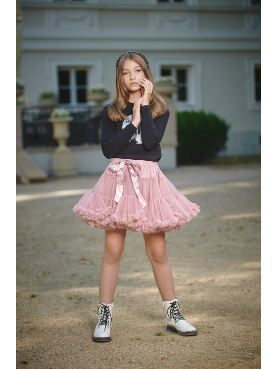 LaVashka Sijonas 10-B Rožinė Regular Fit