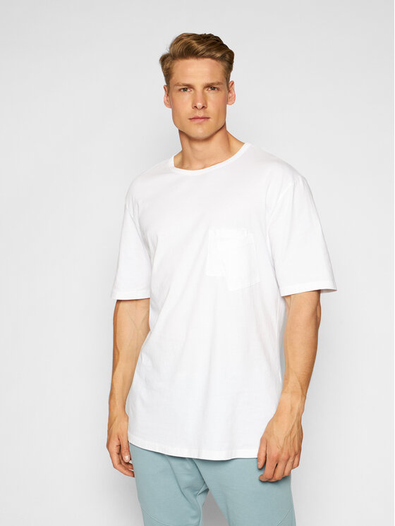 Imperial Marškinėliai TJ08BCKTD Balta Oversize
