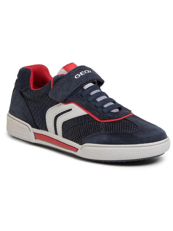 Geox Geox Sneakersy J Poseido B. D J02BCD 01422 C0735 D Granatowy