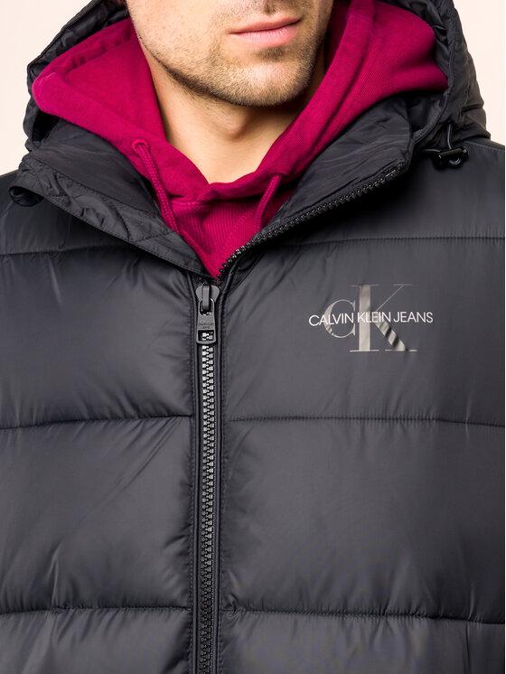 Calvin Klein Jeans Calvin Klein Jeans Зимно яке Monogram J30J314268 Черен Regular Fit