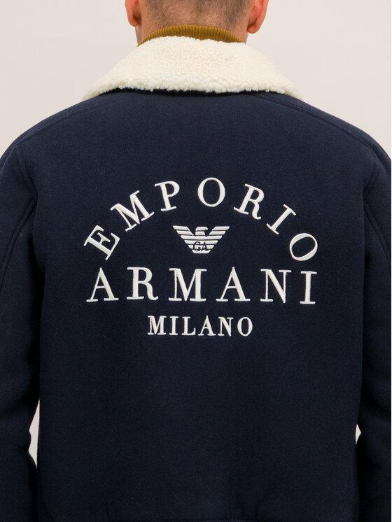 Emporio Armani Emporio Armani Átmeneti kabát 6G1BQ2 1NIXZ 0920 Sötétkék Regular Fit